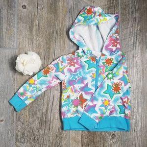 🔥3/$15 Light Hoodie zip up baby girl